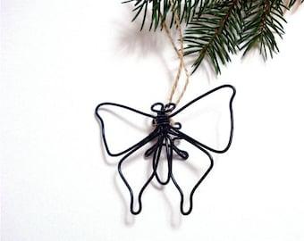 Butterfly Ornament, Butterfly Wire Sculpture, Butterfly Wire Art, 117089603