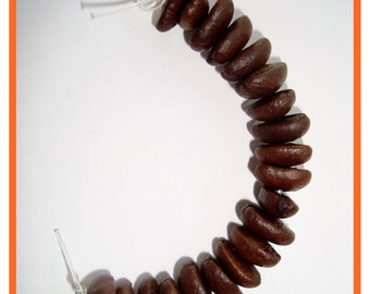 Coffee Beans Beads 20 Ct