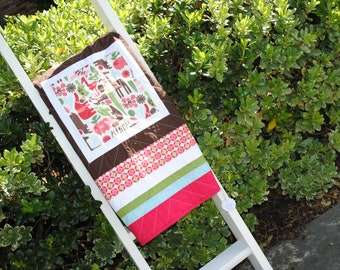 Modern Zoo Baby Quilt