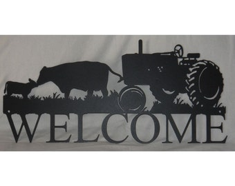 Welcome Farm Tractor