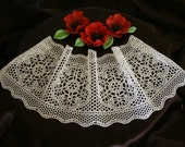 3 Edible Lace, Cake Wrappers, Rosettes, Doilies