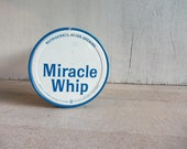 Vintage Miracle Whip Jar