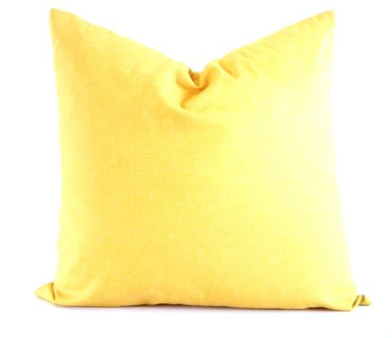 Large Mustard Yellow Pillow Bohemian Decorative Pillows