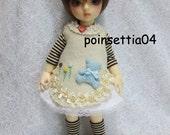 Super Dollfie Yo SD Brown Bear Dress Set