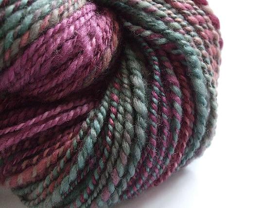 SALE - Handspun bfl wool Heather - 104gr 168m 2ply