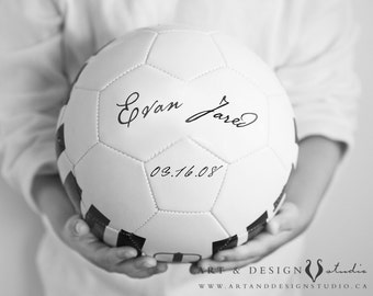 Boys Sports Art, Soccer Ball, Art Print, Man Cave Art, Personalized Sports, Ball Art, Boys Room Decor, Custom Kids Art, Nursery Prints