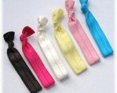 Tutu Chic FOE Hair Tie Ponytail Holders for Toddlers to Mommies Elastic Hair ties Elastic Bracelet