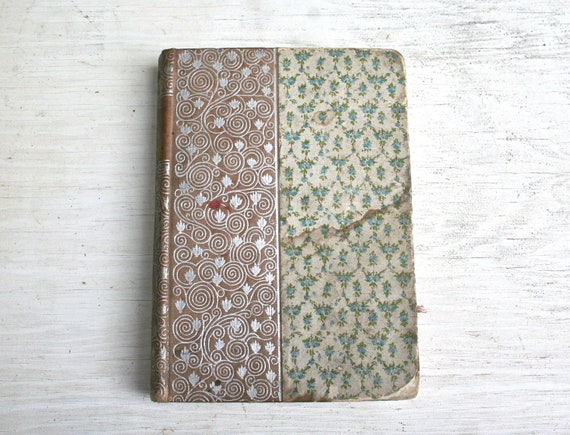 Gorgeous Antique Book from 1895 - Sesame and Lilies Ruskin