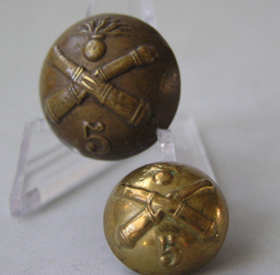 Antiques Us: Antique Military Uniform Buttons U.S. Army Ordnance With