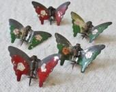 Vintage Metal Butterflies Accessories