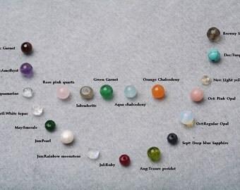 For tyrahandmadejewelry Jewelry buyer ONLY,Birthstone,Wire wrapped,customize birthstone,Small gemstone pendant,Add on jewelry