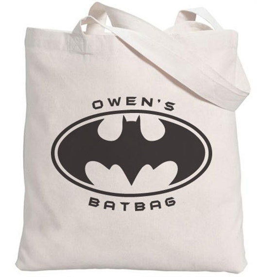 Personalized Bat or Treat Eco-Friendly Bag