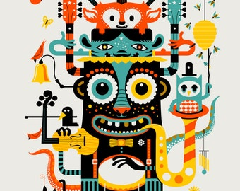 Music Monster by Methane Studios