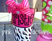 Zebra Print Beer Pilsner - Personalized for the Beer Lovers