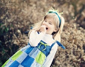 Ready to Ship - Patchwork Jumper - size 5-6