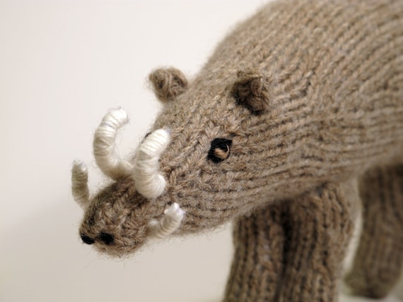 Knit Babirusa RESERVED FOR KRISTIN