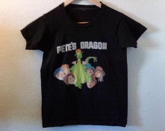 Vintage / Pete's Dragon / TShirt / Indie / Grunge / Rock N Roll / Punk Lolita / Disney / Classic Movie / Film / Rare Collector Tee
