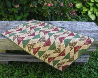 Flight Path Flying Geese Quilted Table Runner
