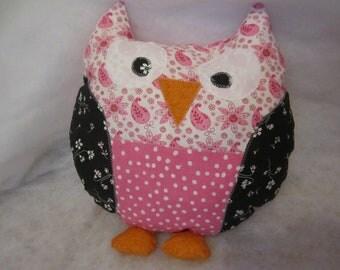 Stuffed Owl Pillow