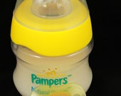 Yellow Pampers 4oz. Bottle for Real Care of Reborn Doll