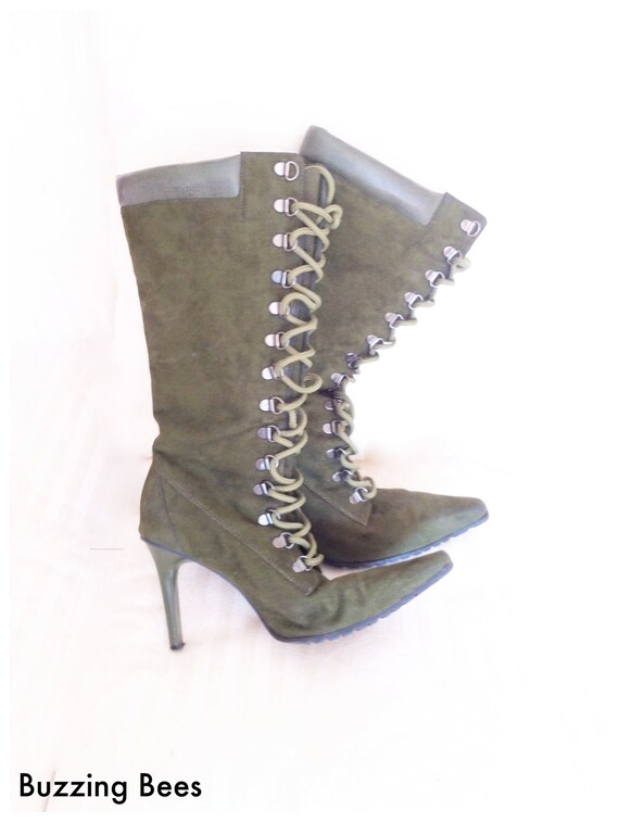 vintage boots on etsy