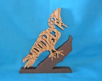 Woodpecker Scroll Saw Wooden Puzzle