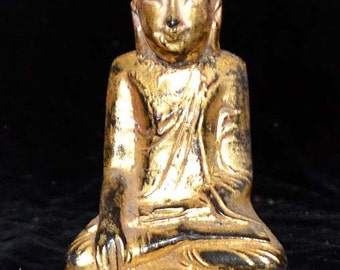 Buddha, pure lacquer image from Burma