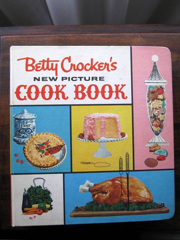 Vintage Betty Crocker's Cookbook 1971 8th Printing