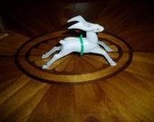 50s Deco Reindeer Hasbro Hard Plastic Retro Christmas Decor