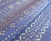 Japanese silk from Kyoto Indigo dyeing Tradition design 4