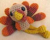 Trevor Turkey Crochet Amigurumi Pattern