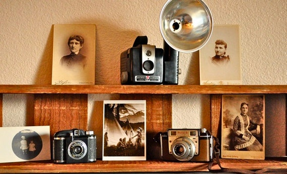 Instant Vintage Camera Collection with Cases