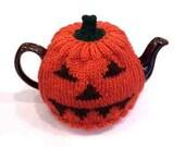 Jack O Lantern Pumpkin Tea Cosy