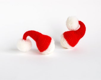 SALE before Christmas 10% OFF Santa hat Egg cozies.