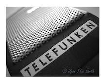 "Vintage Telefunken Microphone - 8.5"" x 11"" Fine Art Photograph"