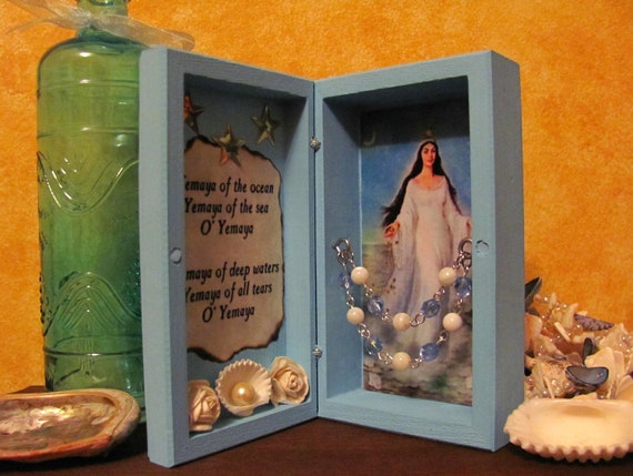 Yemaya Mini Traveling Shrine Box
