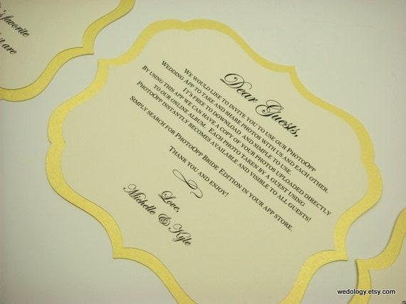 Special Listing for Amanda Wedding Sign Romantic Label Design Elegant Script Font Custom Wording Custom Colors  My Medium  5.5 x 7 Size