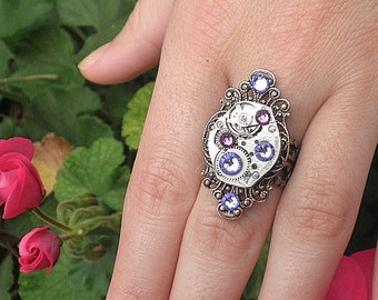 Stunning Steampunk Ring