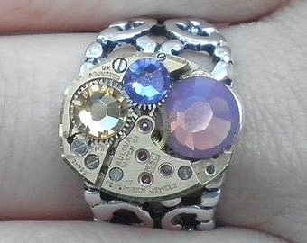 HUGE SALE, Stunning Steampunk Ring