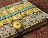 Notable Fabric Covered Mini Notebook