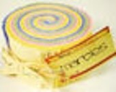 """Bella Solids Pastel Jelly Roll   by Moda """"Pre Cut 2 1/2 Inch Strips of Fabric For Your Projects"""