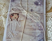 "Stationery ""Snow Princess"""
