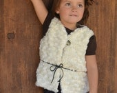 INSTANT DOWNLOAD- Coco Vest (Sizes 12/18 months to 8) PDF Sewing Pattern and Tutorial
