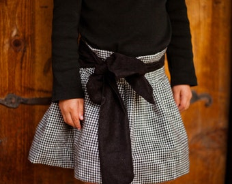 INSTANT DOWNLOAD- Sunday Skirt (Sizes 12/18 months to 8) PDF Sewing Pattern and Tutorial