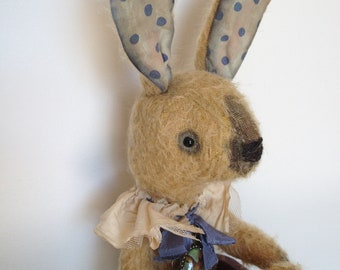 Wodga Wabbit with stickyup ears - a new Pattern from Luvly Bears