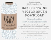 Commercial License for Baker's Twine Illustrator Vector Brush and Image Pack