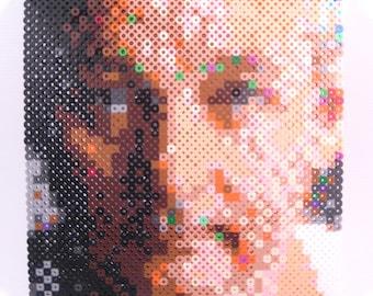 Mini Perler Portrait - Bill Murray