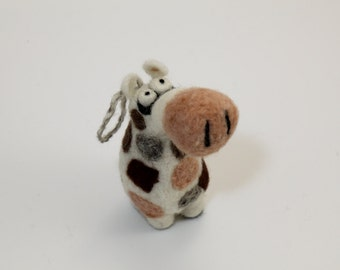 Needle felting giraffe kit