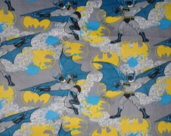 Batman Super Hero Blue Throw Blanket Soft Warm Wall Hanging New