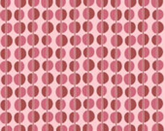 Riley Blake Designs Fiona's Fancy Cottons Pink Dots Fabric - 1 yard